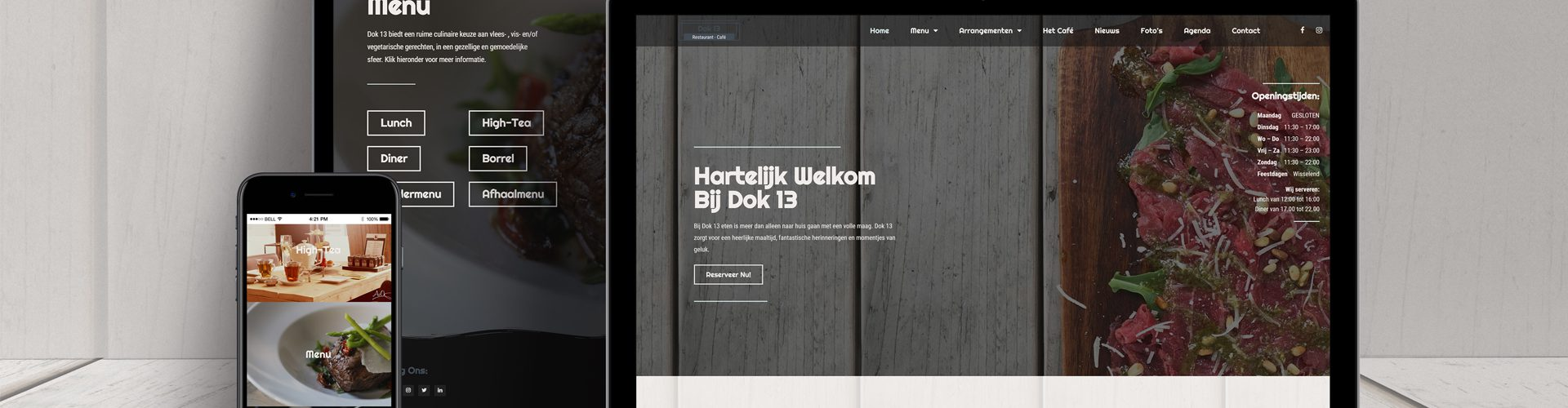 Dok 13 Website Design